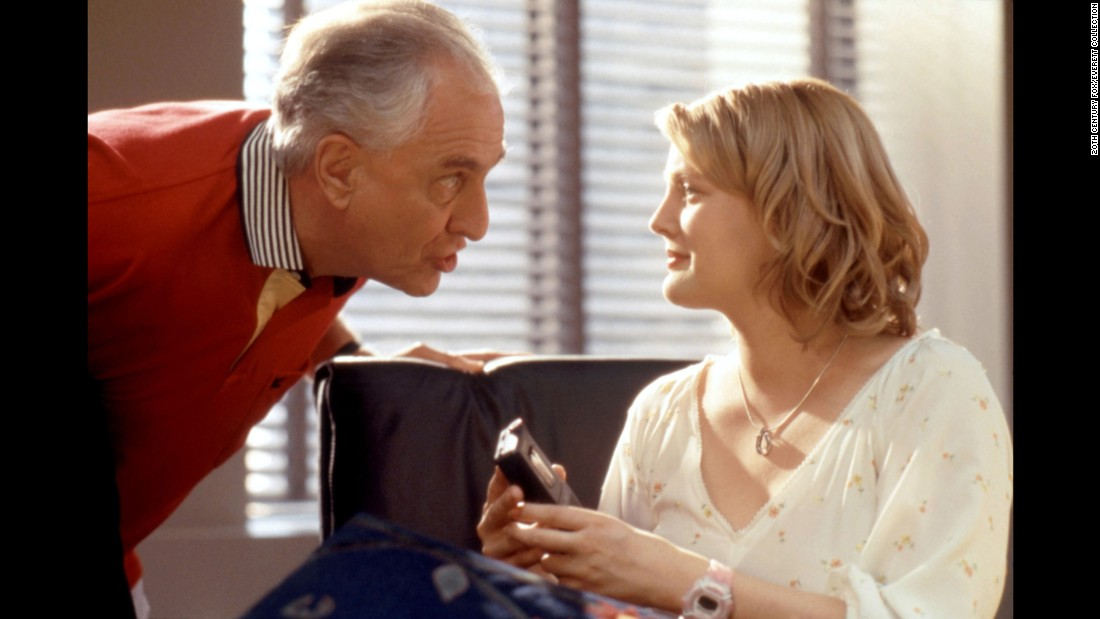"Marshall acts with Drew Barrymore in ""Never Been Kissed"" (1999)."