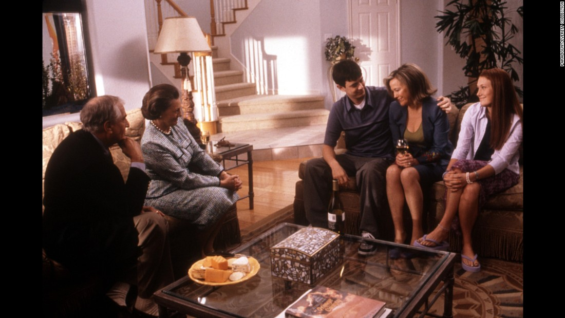 "Marshall, left, appears in 2002's ""Orange County"" along with Dana Ivey, Colin Hanks, Catherine O'Hara and Schuyler Fisk."