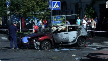 Michael Holmes reports on the apparent murder of a prominent journalist in the Ukrainian capital of Kiev.