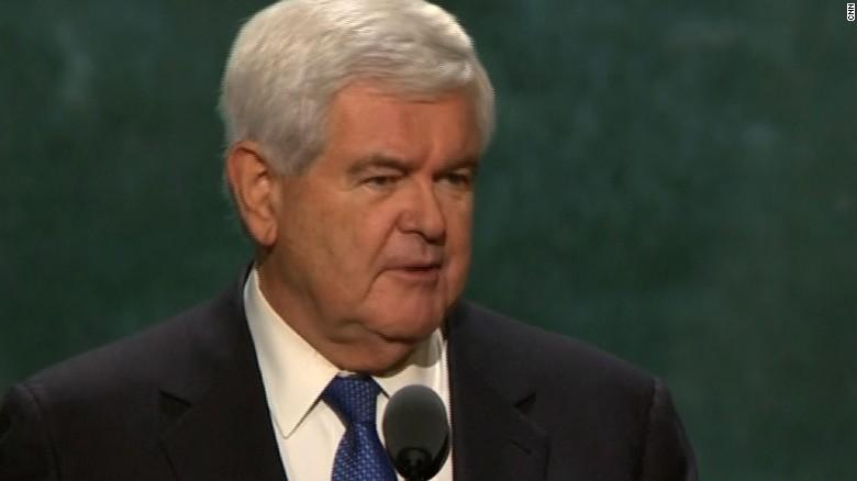 Gingrich clarifies Trump stance on Muslim ban