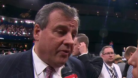 rnc convention chris christie ted cruz selfish dana bash sot_00000419