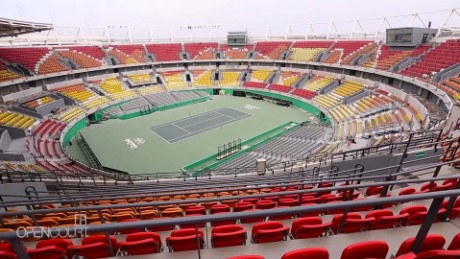 Olympic confidential: Inside Rio 2016 Tennis Center