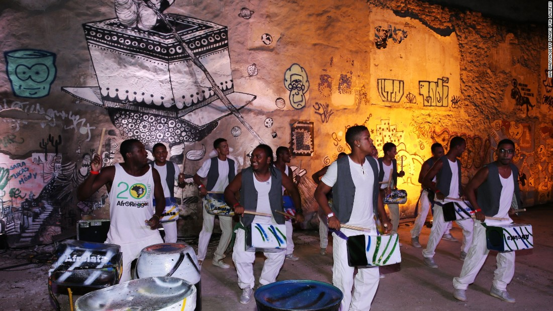 Much of the best music in Rio is played in this neighborhood.