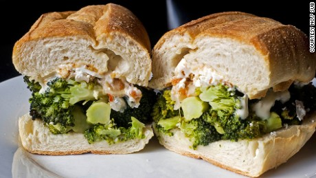 Who knew a broccoli sub could taste this good?