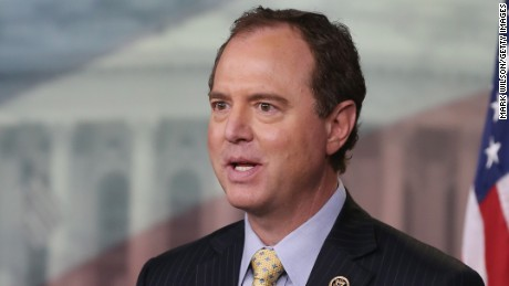 Rep. Adam Schiff (D-CA) speaks about President Obama's proposed ISIL war authorization during a news conference on Capitol Hill, February 11, 2015 in Washington, D.C.