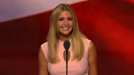 Ivanka Trump: My father is the people's champion