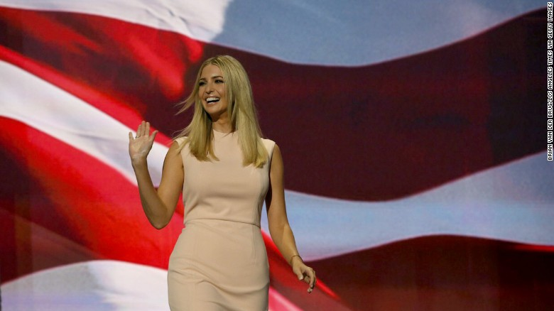 Ivanka Trump: Father has history of supporting women