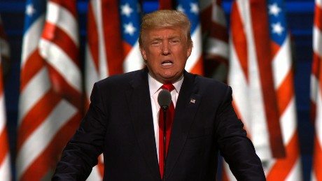 Donald Trump accepts presidential nomination