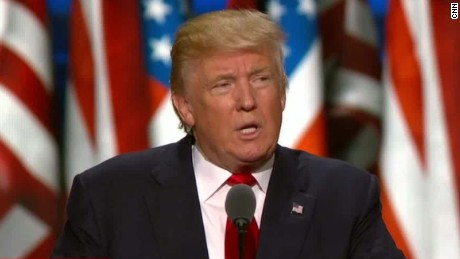 Donald Trump slams illegal immigration in RNC speech