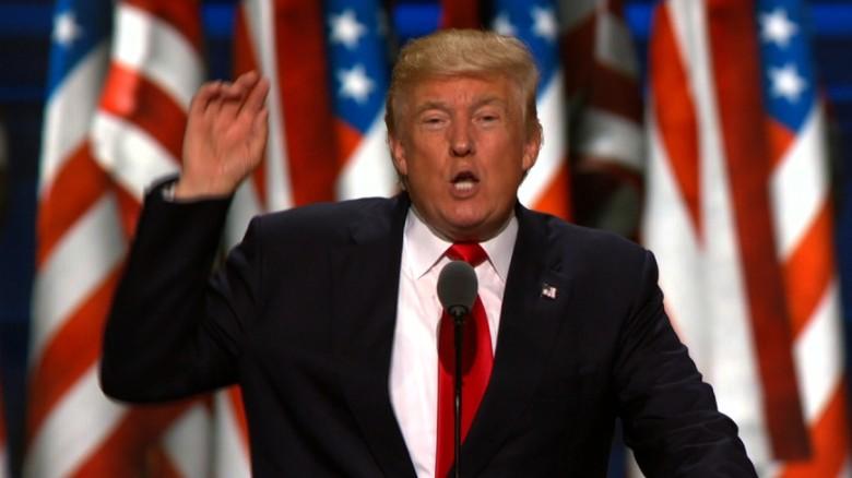 Donald Trump's big night in 90 seconds