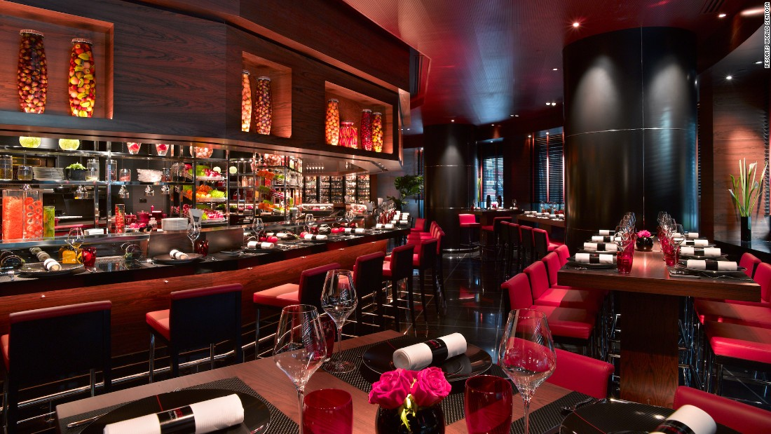A second Robuchon venue, L'Atelier Robuchon, was among the six restaurants that received two stars.