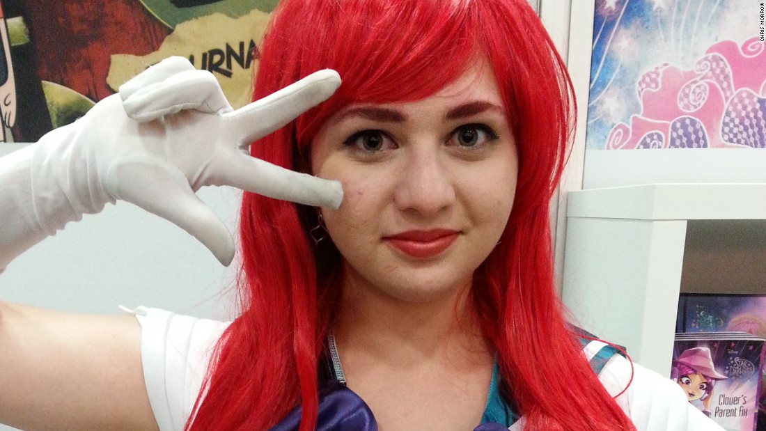 Fourth time is the charm! Alex Pomeranz, 15, dressed as Sailor Ariel for Comic-Con 2016, her fourth convention.