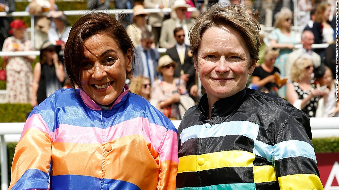 TalkTalk CEO Dido Harding (right) finished second in 2015 and has ridden in all but one staging of the Magnolia Cup. Harvey Nichols group marketing and creative director Shadi Halliwell (left) made her debut last year.