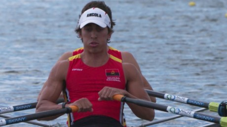 Angolan rowers making history as they head for Rio 2016