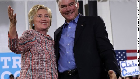 Labor, abortion rights groups praise Kaine pick