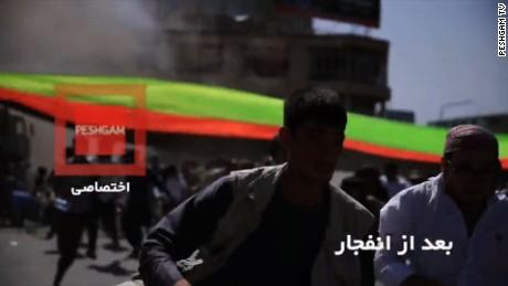 Kabul Afghanistan bombing moment ISIS_00000000