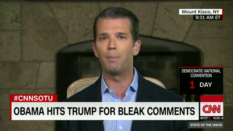 Donald Trump Jr. Interview on State of the Union