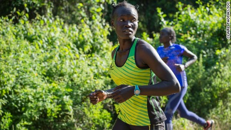They came to Kenya as refugees -- and they left as Olympians