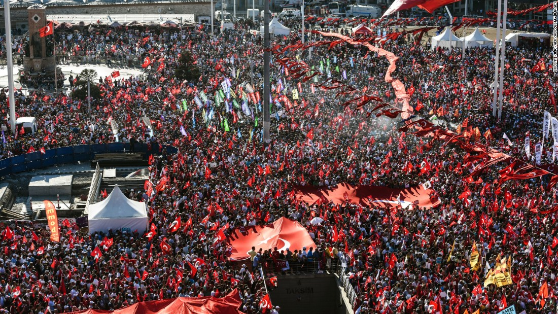 Although the opposition denounced the coup and supported Erdogan, it has voted against his state of emergency declaration. Secularists have said their rejection of the coup does not mean they agree with government measures enacted afterward.