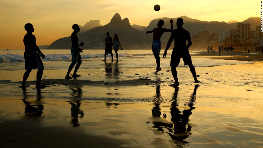 Brazil's citizens know how to have fun, and it's infectious. From sports to celebrations, Brazilians play hard.