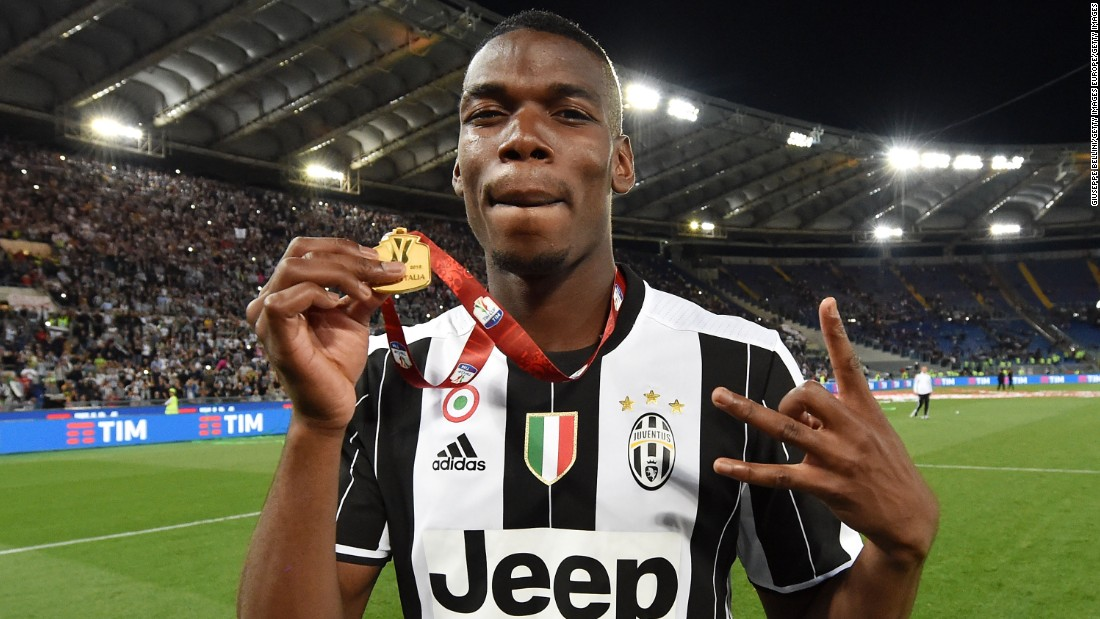 Pogba is reportedly wanted by Manchester United.  Supposedly the midfielder has become the No.1 target for Jose Mourinho's side -- and he could cost up to $120 million.