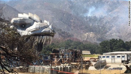 Sable Ranch, where many movies and TV shows were shot, was lost in the Sand Fire.