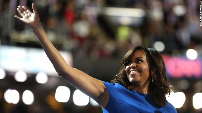 Michelle Obama's entire Democratic convention speech