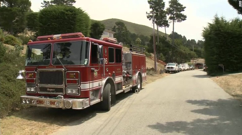 monterey california wildfires pkg_00002508
