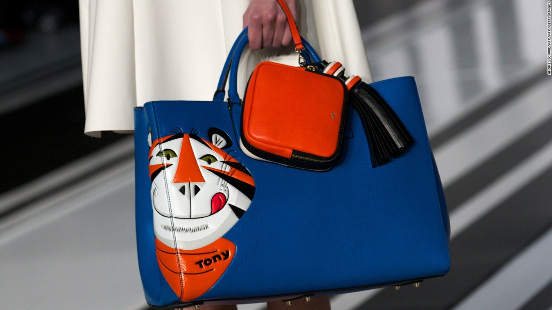 "Hindmarch highlights her Counter Culture collection as a favorite past collaboration. ""I like the idea of the high-low aspect of fashion, because you can be quite playful. You can do a beautiful bag that's inspired by something as fun as cereal."""