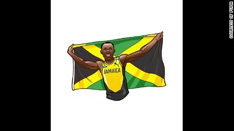 Usain Bolt: World's fastest man gets his own emoji for Rio