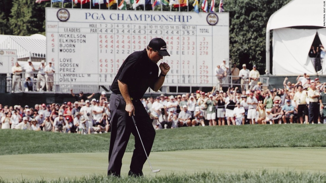 The PGA Championship returns to Baltusrol Golf Club for the final major of the 2016 season. The last time it staged the tournament in 2005, Phil Mickelson won the second of his five major titles after a dramatic flop-shot from the rough that earned a birdie on the final hole.