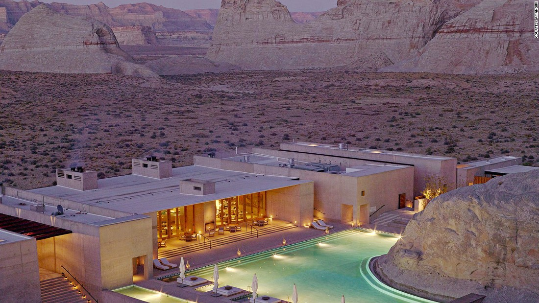 20 of america 39 s most beautiful hotels for Design hotel utah