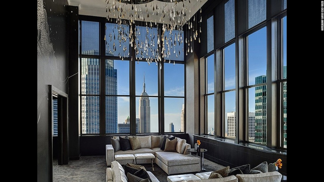 20 of america 39 s most beautiful hotels for Most expensive hotel in nyc