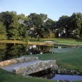 Baltusrol Golf Club 4th hole bridge