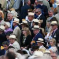 Gentlemen wear Panama hats at Goodwood