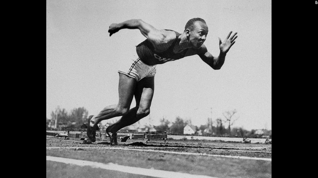 "Owens had perhaps the greatest single day in track-and-field history on May 25, 1935. During a college meet in Ann Arbor, Michigan, the ""Buckeye Bullet"" broke three world records and tied a fourth -- all within a 45-minute span."