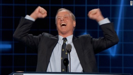 Howard Dean speaks at the DNC