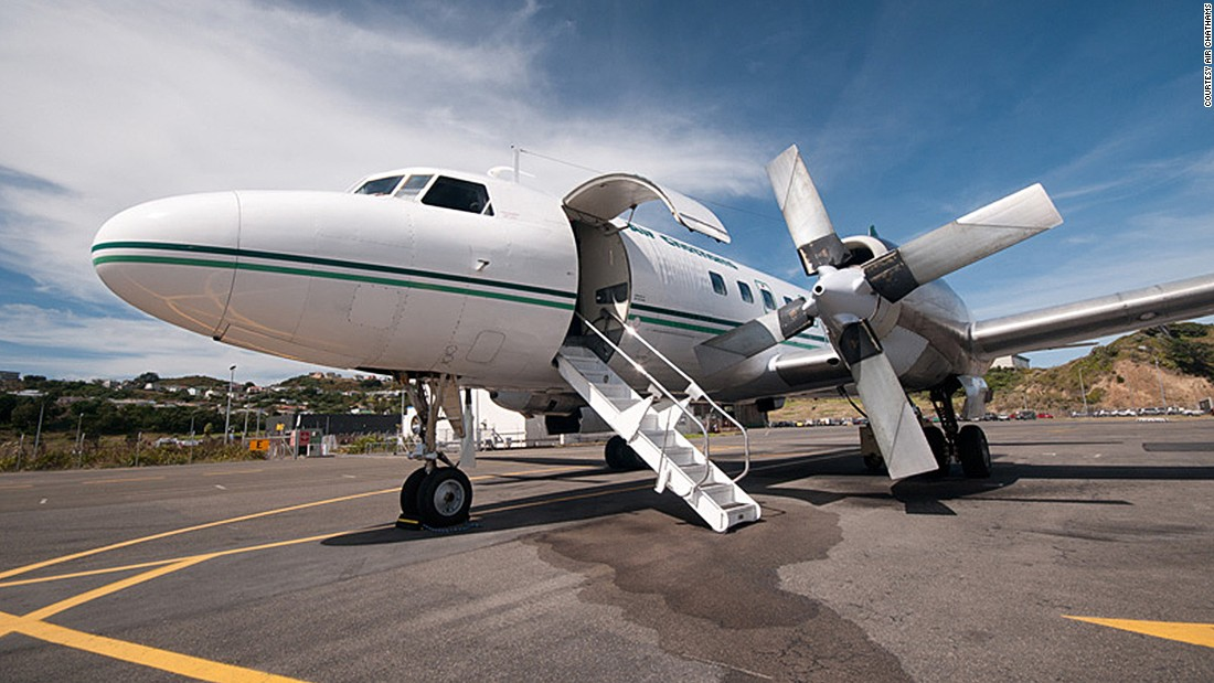 "Air Chathams is the only airline that still operates a Convair 580 nowadays. ""The Convair 580 was truly ahead of its time, and it comes with an exceptional level of system redundancy. It is very robust and able to operate effectively in all sort of climates,"" says Duane Emeny of Air Chathams."