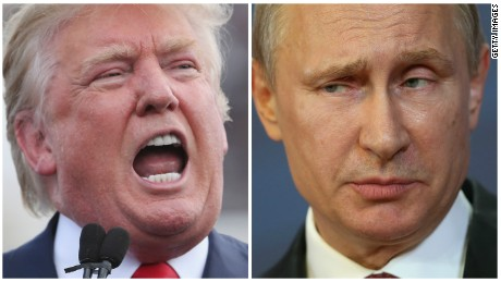 Donald Trump's admiration for Vladimir Putin is trouble