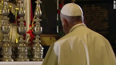Pope says the world 'is at war'