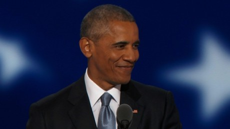 Obama to DNC: Donald Trump offering slogans and fear
