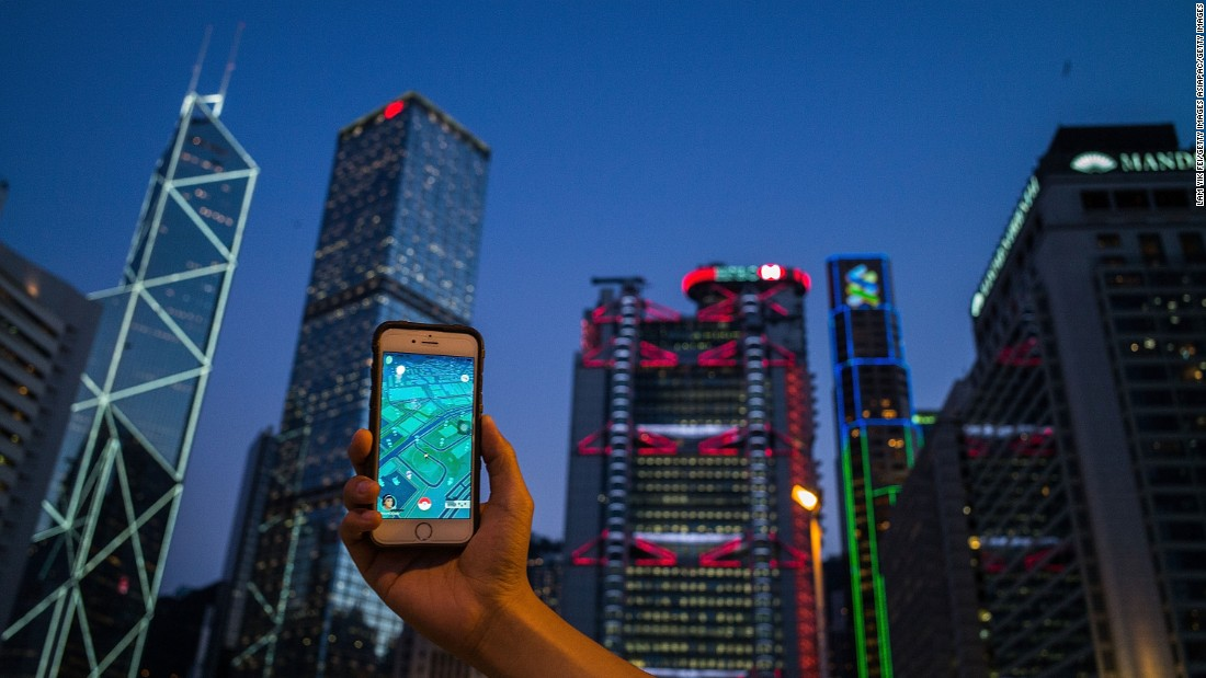 "Hong Kong businesses have also taken to the game, with several phone carriers offering free data packages for Pokémon GO, and bars and cafes buying ""lure modules"" to attract Pokémon and players."