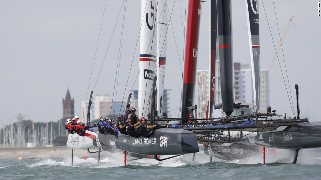 Ainslie's team is hoping its hi-tech approach -- which includes the use of artificial intelligence -- will make it the first from Britain to win the America's Cup competition, which began in 1851.
