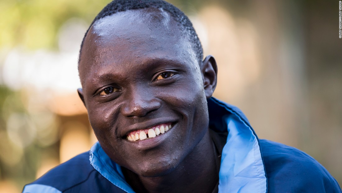 "Paul Amotun Lokoro fled war in his home country of South Sudan. Years later, the 24-year-old is aiming to not just compete, but thrive at the Olympic Games.""I want to win a gold,"" he says. ""If I win the race, I will be famous!"""