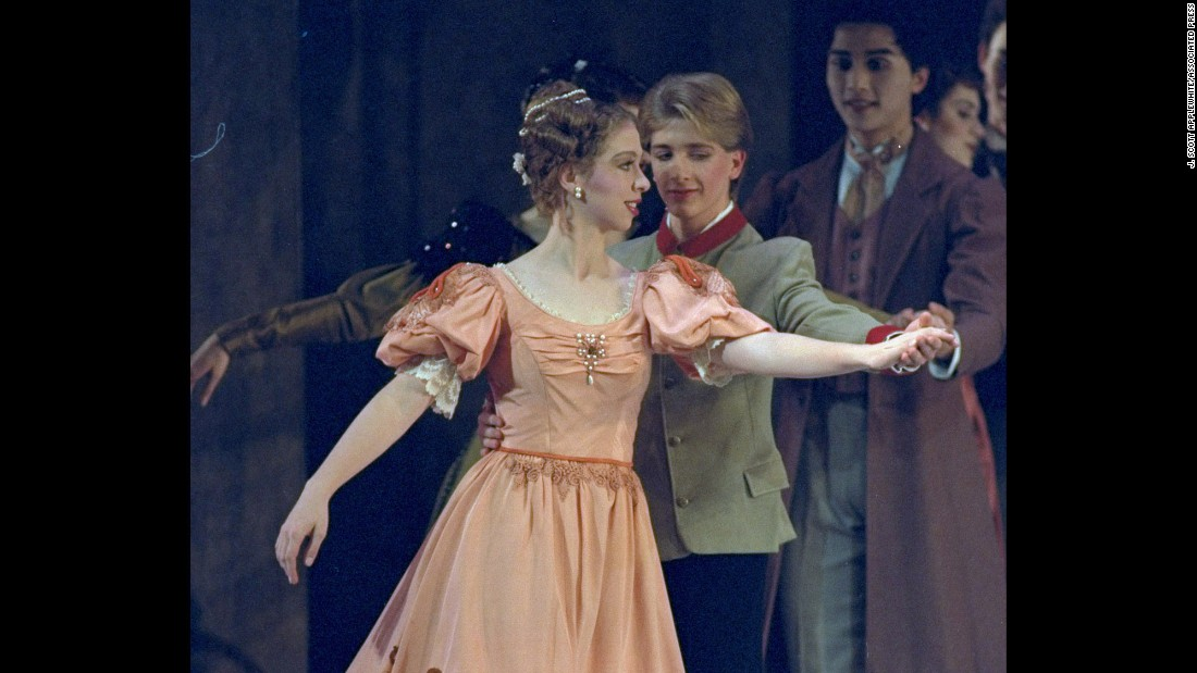 "Chelsea, 13, rehearses in December 1993 before performing in the Washington Ballet's holiday production of ""Nutcracker."""