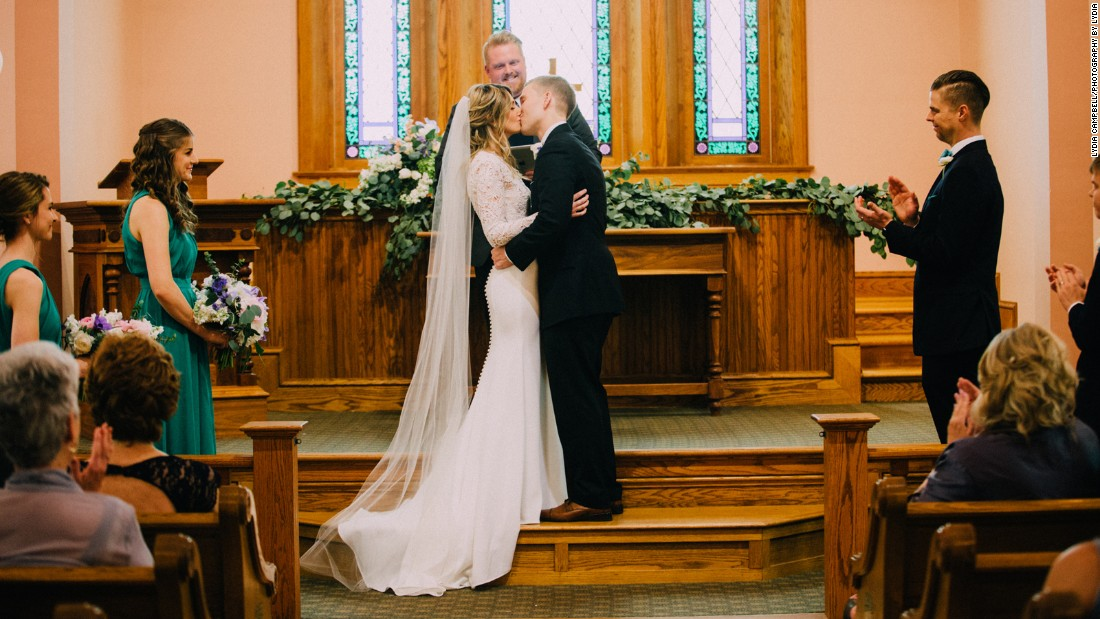 Hester and Mako were married April 30 in an intimate ceremony in a historic Ohio church.