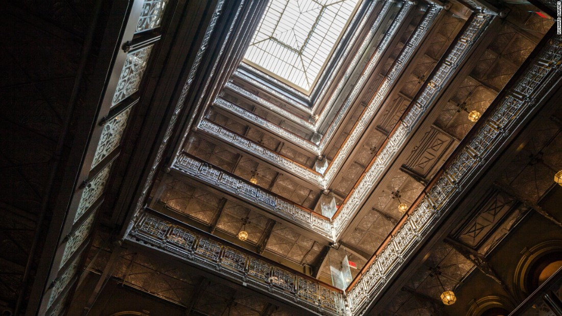 The Beekman's imposing 9-story atrium was once lined with more than 200 offices occupied by attorneys, publishers, architects and advertising agencies.