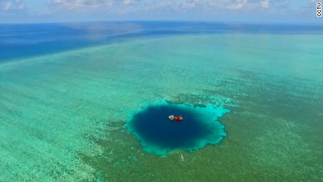 The sinkhole is being described as the world's largest at 987 feet (300.89 meters)