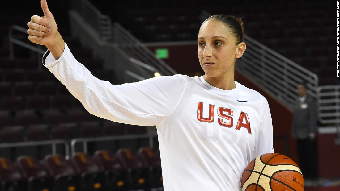 Diana Taurasi is one of three members of Team USA , along with Sue Bird and Tamika Catchings, gunning for their fourth consecutive Olympic gold.