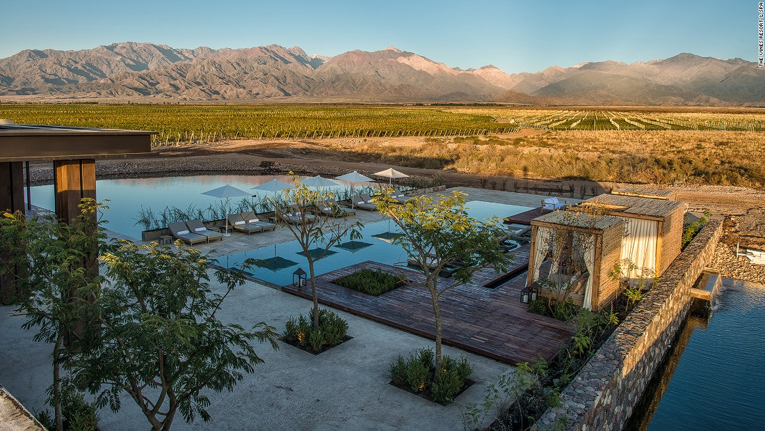Sitting in the foothills of the Andes, The Vines Resort & Spa is one of the best places to stay in Argentina's Mendoza wine region.